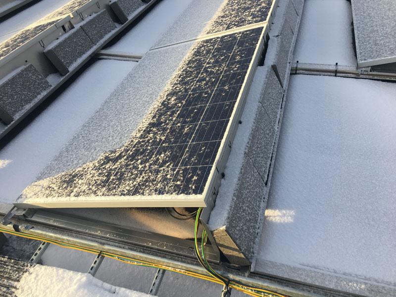 Aurinkovoimala Hub logistics