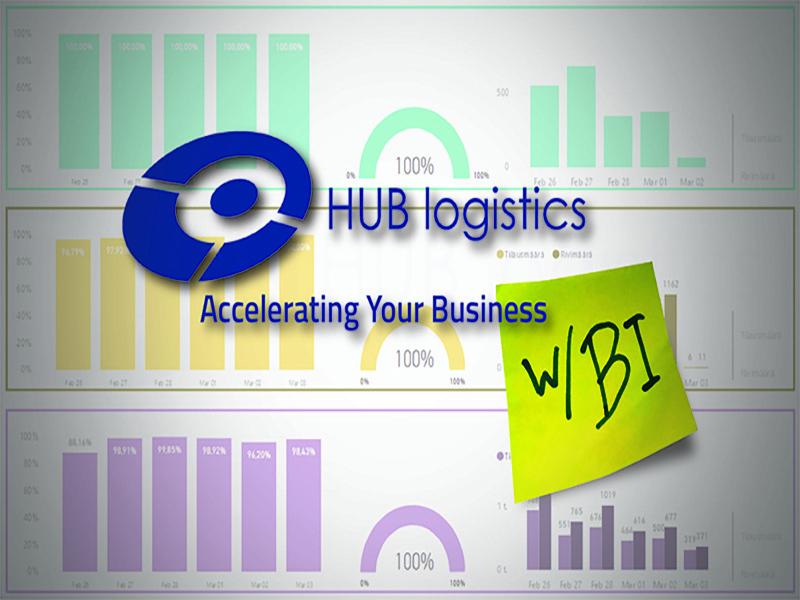 Business intelligence BI HUB logistics