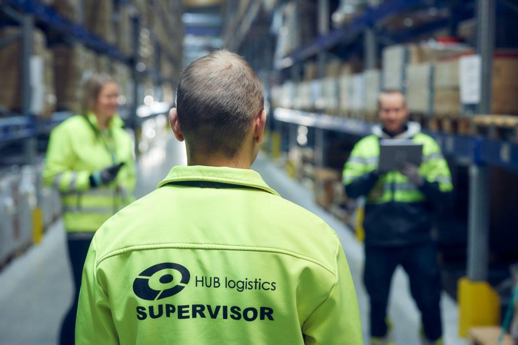 HUB logistics päivittäisjohtaminen