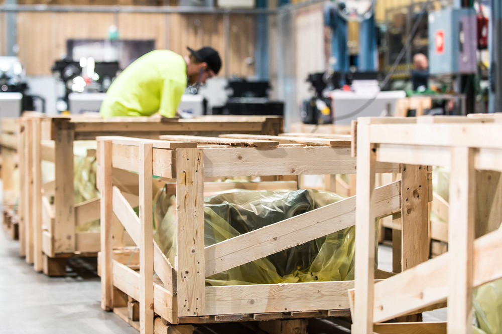 Puupakkaustuotteita mittatilaustyönä